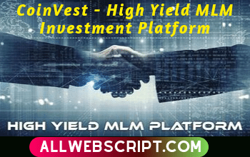 CoinVest – High Yield MLM Investment Platform | World Best MLM (Multi Level Marketing) Script