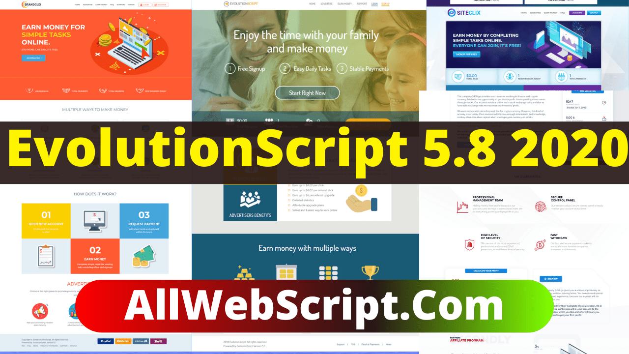 AllWebScript Evolution Script 5.8